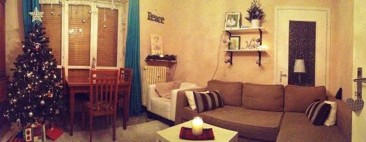 Our Christmassy Apartment