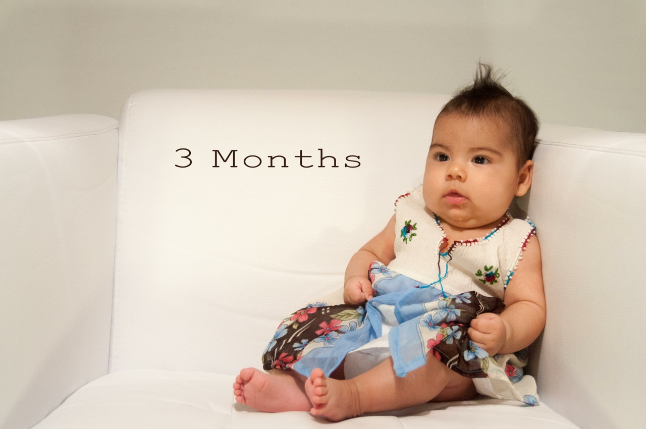 3 months websmall. Our baby girl ...