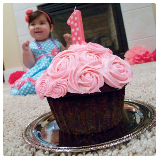 USA Arianna with Smash Cake White