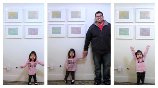 Jon & Arianna at Exhibition